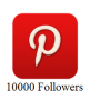 10000 Pinterest Followers