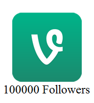 100000 Vine Followers