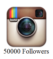 50000 Instagram Followers